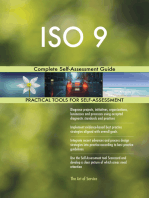 ISO 9 Complete Self-Assessment Guide