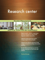 Research center Standard Requirements