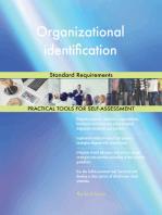 Organizational identification Standard Requirements