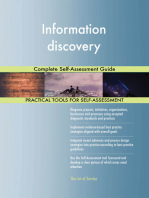 Information discovery Complete Self-Assessment Guide