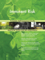 Imminent Risk Complete Self-Assessment Guide