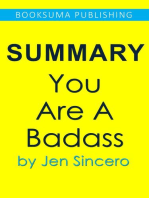 Summary of You Are a Badass by Jen Sincero