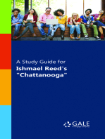 "A Study Guide for Ishmael Reed's ""Chatanooga"""