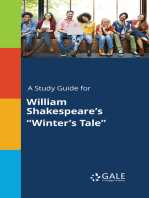 """A Study Guide for William Shakespeare's """"Winter's Tale"""""""