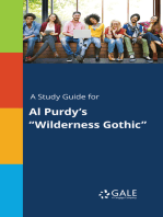 """A Study Guide for Al Purdy's """"Wilderness Gothic"""""""