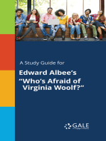 "A Study Guide for Edward Albee's ""Who's Afraid of Virginia Woolf?"""