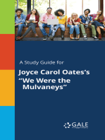 """A Study Guide for Joyce Carol Oates's """"We Were the Mulvaneys"""""""