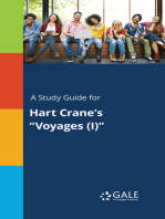 """A Study Guide for Hart Crane's """"Voyages (I)"""""""