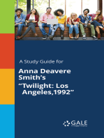 """A Study Guide for Anna Deavere Smith's """"Twilight"""