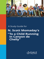 "A Study Guide for N. Scott Momaday's ""To a Child Running in Canyon de Chelly"""