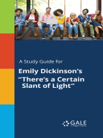 "A Study Guide for Emily Dickinson's ""There's a Certain Slant of Light"""