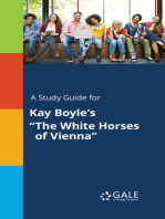 """A Study Guide for Kay Boyle's """"The White Horses of Vienna"""""""