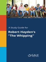 "A Study Guide for Robert Hayden's ""The Whipping"""