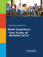 "A Study Guide for Wole Soyinka's ""The Trials of Brother Jero"""