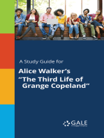 """A Study Guide for Alice Walker's """"The Third Life of Grange Copeland"""""""
