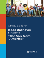 "A Study Guide for Isaac Bashevis Singer's ""The Son from America"""