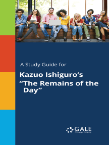 """A Study Guide for Kazuo Ishiguro's """"The Remains of the Day"""""""