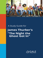 """A Study Guide for James Thurber's """"The Night the Ghost Got In"""""""
