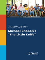 "A Study Guide for Michael Chabon's ""The Little Knife"""