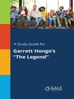 "A Study Guide for Garrett Hongo's ""The Legend"""