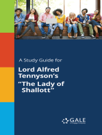 """A Study Guide for Lord Alfred Tennyson's """"The Lady of Shallott"""""""