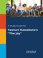 "A Study Guide for Yasnuri Kawabata's ""The Jay"""