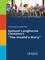 "A Study Guide for Samuel Langhorne Clemens's ""The Invalid's Story"""