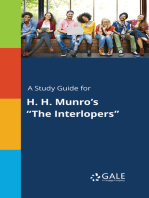 """A Study Guide for H. H. Munro's """"The Interlopers"""""""