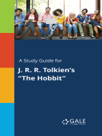 """A Study Guide for J. R. R. Tolkien's """"The Hobbit"""""""
