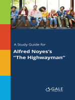 "A Study Guide for Alfred Noyes's ""The Highwayman"""