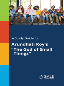 """A Study Guide for Arundhati Roy's """"The God of Small Things"""""""