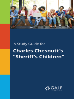 "A Study Guide for Charles Chesnutt's ""Sheriff's Children"""