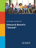 """A Study Guide for Edward Bond's """"Saved"""""""