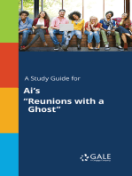 """A Study Guide for Ai's """"Reunions with a Ghost"""""""