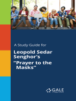 "A Study Guide for Leopold Sedar Senghor's ""Prayer to the Masks"""