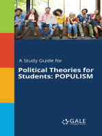 A Study Guide for Political Theories for Students
