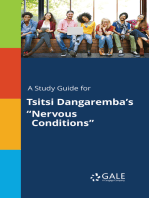 "A Study Guide for Tsitsi Dangaremba's ""Nervous Conditions"""