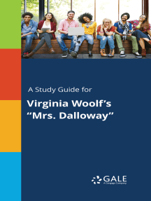 "A Study Guide for Virginia Woolf's ""Mrs. Dalloway"""