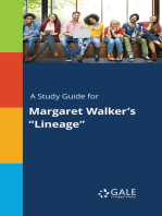 """A Study Guide for Margaret Walker's """"Lineage"""""""