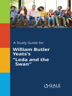 """A Study Guide for William Butler Yeats's """"Leda and the Swan"""""""