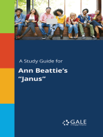 "A Study Guide for Ann Beattie's ""Janus"""