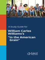 """A Study Guide for William Carlos Williams's """"In the American Grain"""""""