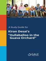 "A Study Guide for Kiran Desai's ""Hullaballoo in the Guava Orchard"""