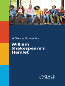 A Study Guide for William Shakespeare's Hamlet