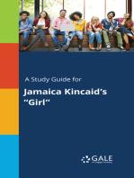 "A Study Guide for Jamaica Kincaid's ""Girl"""