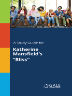 """A Study Guide for Katherine Mansfield's """"Bliss"""""""