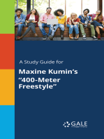 "A Study Guide for Maxine Kumin's ""400-Meter Freestyle"""