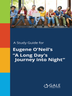 "A Study Guide for Eugene O'Neil's ""A Long Day's Journey into Night"""