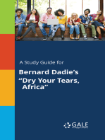 "A Study Guide for Bernard Dadie's ""Dry Your Tears, Africa"""