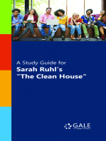 "A Study Guide for Sarah Ruhl's ""The Clean House"""